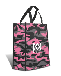 Marcus & Martinus: Shopping Bag Pink